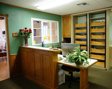 Office front desk